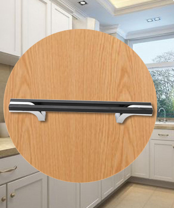 Hollow Kitchen Cabinet Handles And Knobs 160mm Aluminum Assembly T Bar Simple Modern Pulls