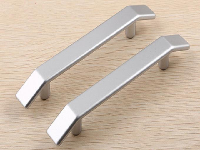 Pearl Silver 96mm Plastic Drawer Pulls Freezer Handle  Chpeast China Furniture Handles