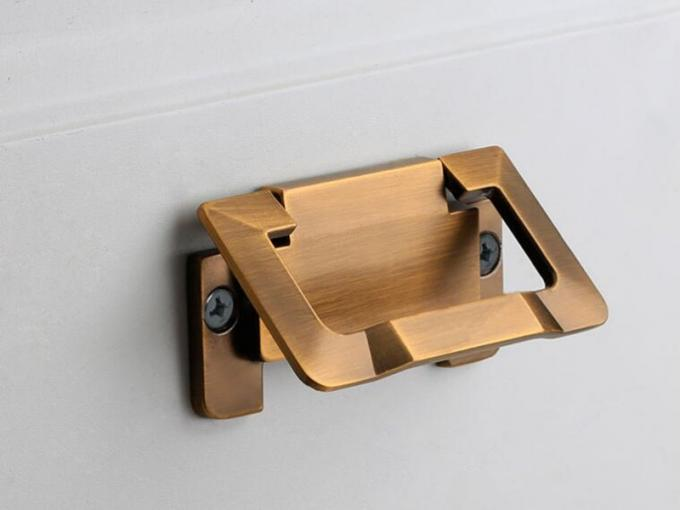 Brush Brass Hidden Drawer Pulls Kitchen Cabinet Knobs / Closet  Square 64mm Handles T Bar Pulls  Furniture Fittings