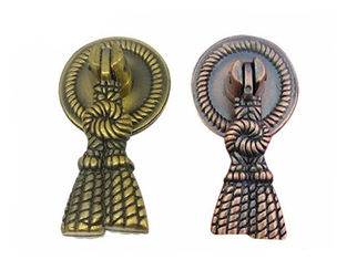 China Classical Cabinet Ring Pulls Copper Drawer Pulls European Pendant Design supplier