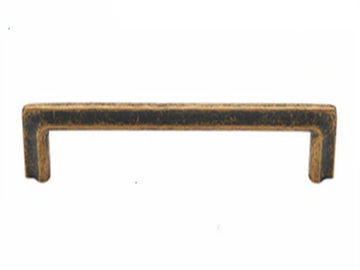 China Antique Brass T Bar Furniture Handles And Knobs / Gold Cabinet Pulls supplier