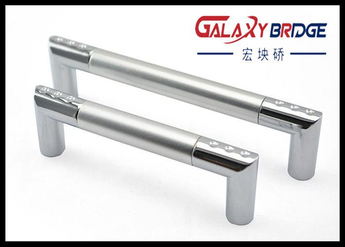 Aluminum Cabinet Handles , Zinc Silver Refrigerator Door Aluminum ...