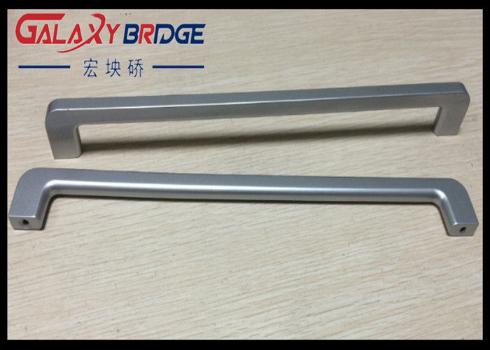 Silver ABS Plastic Handle Slender And Long Ice Box Door Handles ...