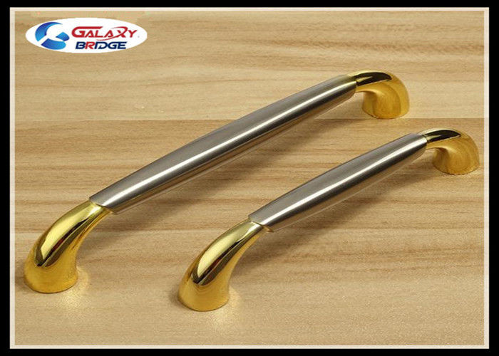 Classical Silver Kitchen Cupboard And Drawer Handles Gold Kitchen Cabinet T  Bar 128mm