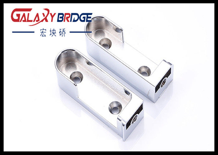 Exceptionnel Chrome Furniture Hardware Accessories / Side Mounting Rail Closet Tube  Support Zinc Wardrobe PIpe Holer