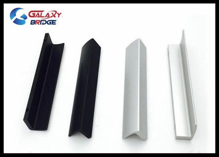 Simple Kitchen Cabinet Profile Hnaldes Oxidized Aluminum Furniture Handles  Black Polished Dresser Knobs