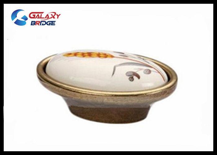 Cabinet Porcelain Handles And Knobs Zinc Dresser Handles Pattern Ceramic  Furniture Handles
