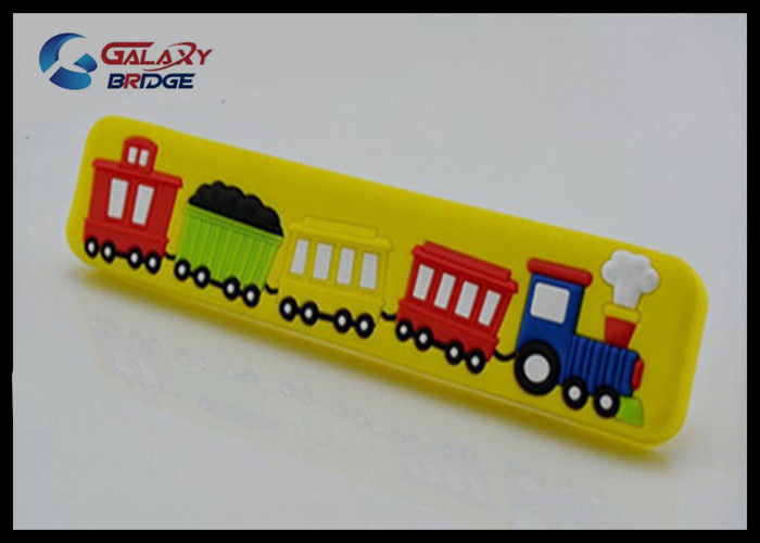 Train Colorful Rubber Drawer Pulls Cartoon S 32mm