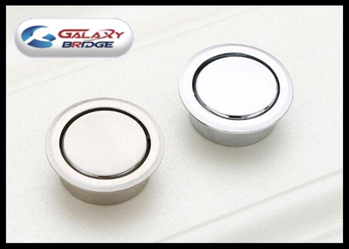 Round Boynced Knob Concealed Cabinet Handles , Hidden Drawer Pulls GLI6025